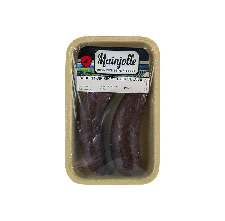 Boudin noir recette bordelaise Mainjolle