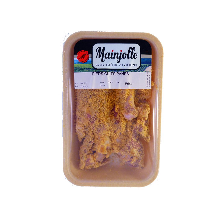 Pieds de porc cuits panés Mainjolle
